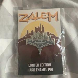 "Alita movie "" Zalem"" pin"
